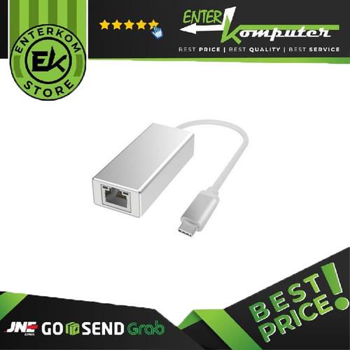 Foto Produk Kabel Type C USB To LAN Gigabit 10/100/1000 - Merk Netline dari Enter Komputer Official
