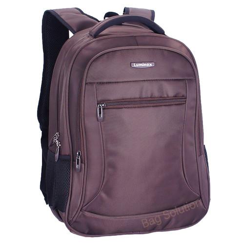 Foto Produk Luminox Tas Ransel Laptop Tahan Air 62059 Backpack Up to 15 inch - Cokelat dari Bag Solution