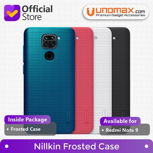 Foto Produk Hard Case Xiaomi Redmi Note 9 Nillkin Frosted - Hitam dari unomax