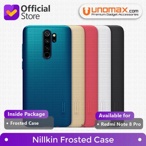 Foto Produk Hard Case Xiaomi Redmi Note 8 Pro Nillkin Frosted - Hitam dari unomax