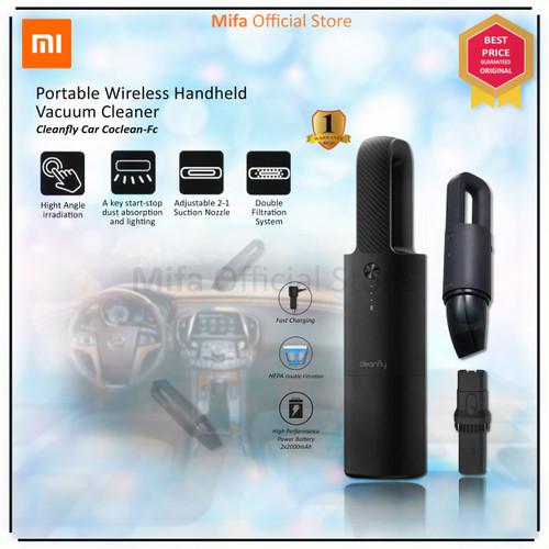 Foto Produk Xiaomi Mijia Cleanfly CoClean-FC Handheld Wireless Vacuum Cleaner Car dari MiFa Official Store