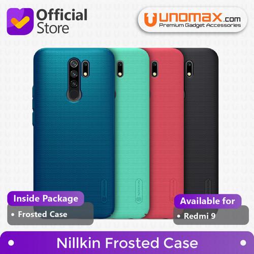 Foto Produk Hard Case Xiaomi Redmi 9 Nillkin Frosted - Peacock Blue dari unomax