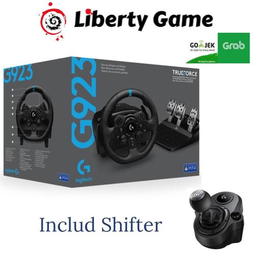 Foto Produk Logitech G923 TRUEFORCE SIM Racing Wheel and Pedals + Shifter dari Suyanto//Liberty Game
