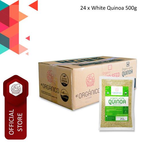 Foto Produk White Quinoa Organic El Organico 500gr (Carton Box) dari ELorganico