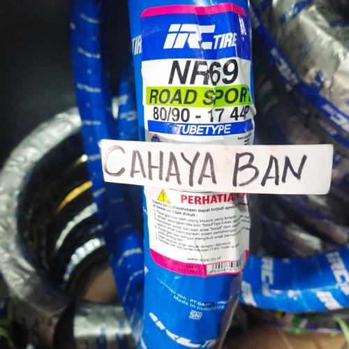 Foto Produk BAN LUAR MOTOR IRC U 80/90-17 TUBE TYPE dari cahayaa ban