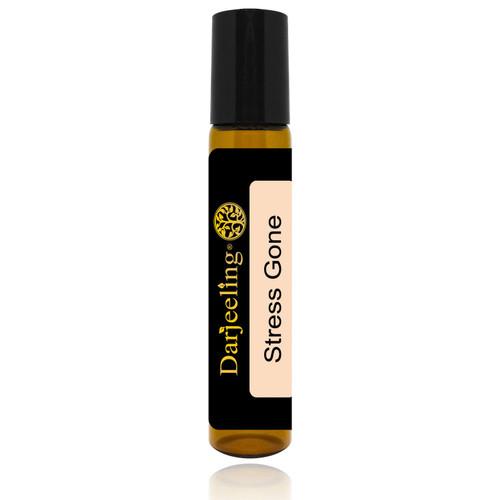 Foto Produk 10ml Stress Gone Essential Oil Roll On Blend untuk Merilekskan Tubuh dari Darjeeling Store