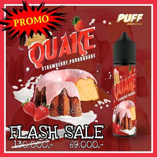Foto Produk LIQUID QUAKE STRAWBERRY poundcake pound POUNDQUAKE pounquake cake dari Bos Gede