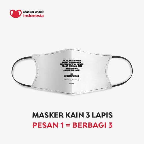 Foto Produk Kamengski x Masker untuk Indonesia dari Masker untuk Indonesia
