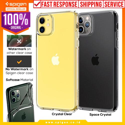 Foto Produk Case iPhone 11 Pro Max / 11 Pro / 11 Spigen Liquid Crystal Casing - Crystal Clear, 11 Pro dari Spigen Official