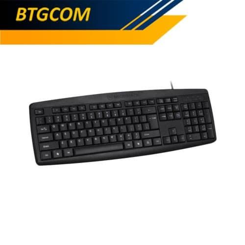 Foto Produk Micropack K203 Classic Wired USB Keyboard Tahan Air & Tidak Berisik dari BTGCOM