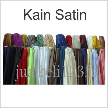 Foto Produk Kain Satin Saten Furing Peles Kahatex 1mtr x 150cm - Tulis diCatatan dari JASA SABLON BORDIR