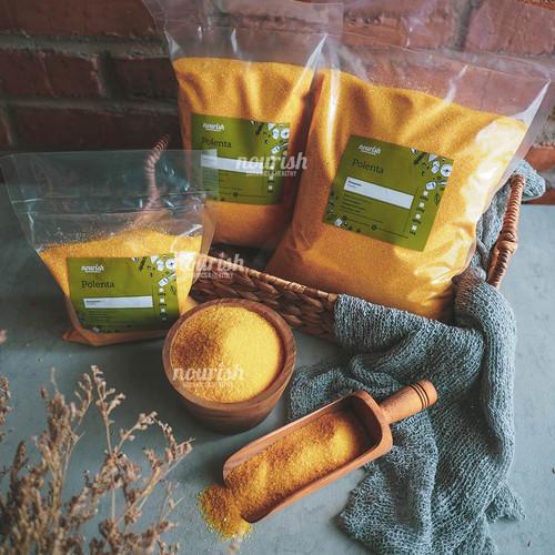 Foto Produk Polenta Coarse 250 gr / Tepung Jagung dari Nourish Indonesia
