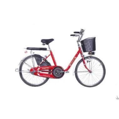 """Foto Produk Jual Sepeda Keranjang City Bike Phoenix UTYPE 114 24"""" Minion Ontel dari bikestuff_id"""