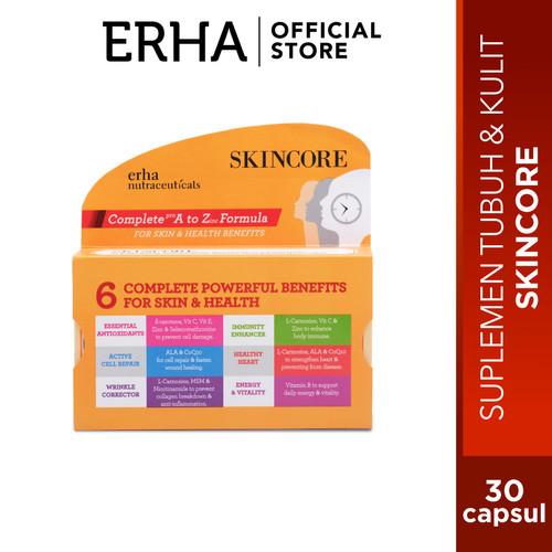 Foto Produk erha Skincore 30caps - Suplemen Anti Aging dari Erha Official Store