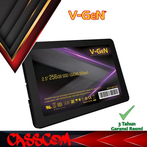 Foto Produk SSD V-Gen 256GB - Sata 3 VGen 256 GB dari CassCom