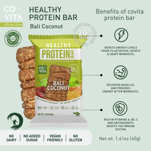 Foto Produk Covita - Healthy Protein Bar - Bali Coconut - Fit Bar dari Covita