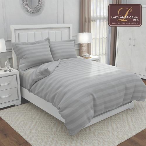 Foto Produk Bed Sheet Lady Americana Vanessa (Light Grey) - 180 x 200 dari Lady Americana