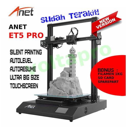 Foto Produk New Printer 3D Anet ET5 PRO Silence Printing | Big Size| Autolevel dari voltapro