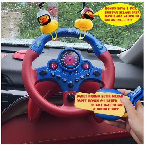 Foto Produk Mainan anak Setir Mobil SUARA Musik Edukasi BELAJAR STIR CAR dari KADOJASPER