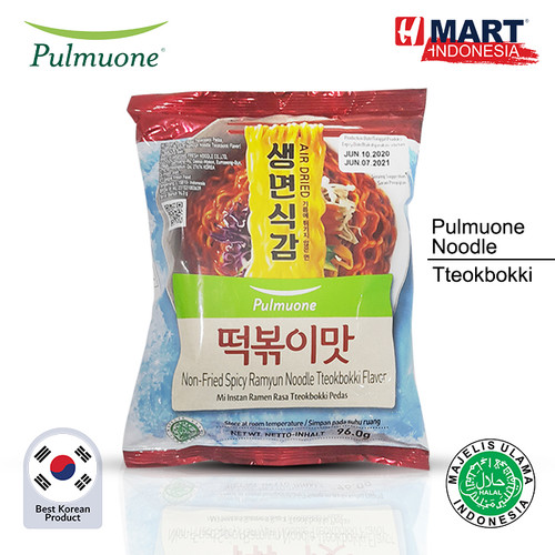 Foto Produk Pulmuone Non Fried Ramyun Noodle - Tteokbokki dari H Mart Official Shop