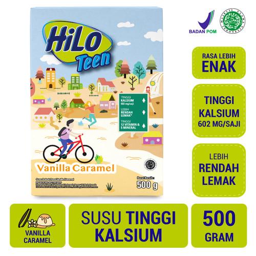 Foto Produk HiLo Teen Vanilla Caramel 500gr - Susu Tinggi Kalsium dari NutriMart