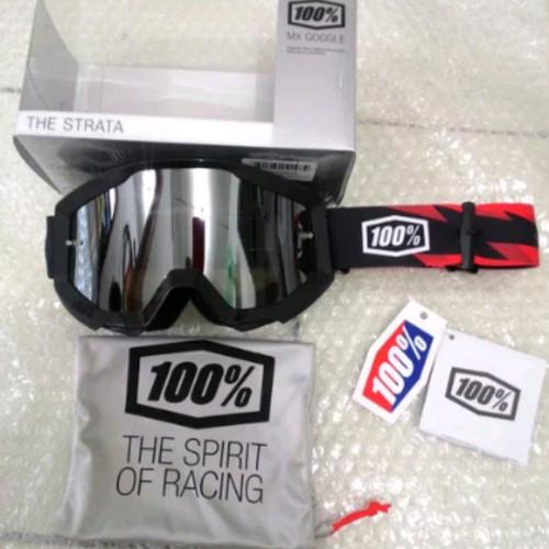 Foto Produk Kacamata Motor Cross - Trail - MX - MTB Goggle 100 percent Slash dari Kandang'z MTB