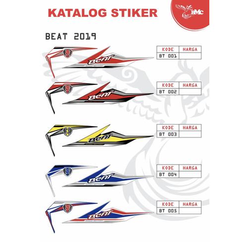 Foto Produk Stiker striping body beat 2019 - 001 dari sentral variasi motor jkt