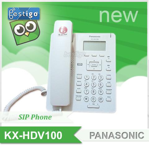 Foto Produk Telepon SIP Panasonic KX-HDV100 Sip Phone - Putih dari BESTIGO PABX TELEPON