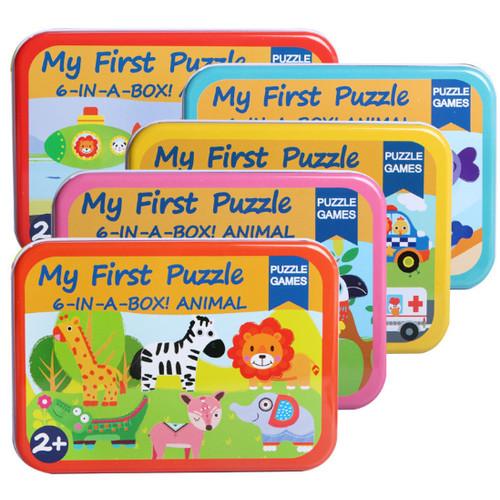 Foto Produk Mainan Edukatif / Puzzle Kayu / Jigsaw Puzzle Anak My First Puzzle - HUTAN dari Jaya Multi Kreasi