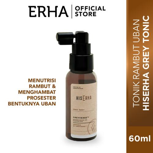 Foto Produk HIS ERHA GREY TONIC 60ML - Tonik rambut anti uban dari Erha Official Store
