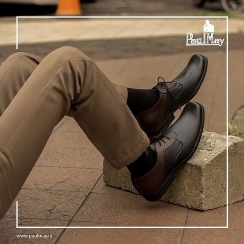 Foto Produk PAULMAY Sepatu Formal Pria Milan 75 - Cokelat, 39 dari Paulmay