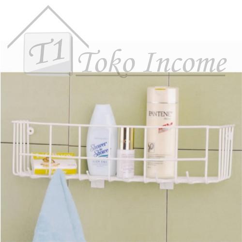 Foto Produk RAK DAPUR KAMAR MANDI HOOK RACK MODELLINE dari Toko Income