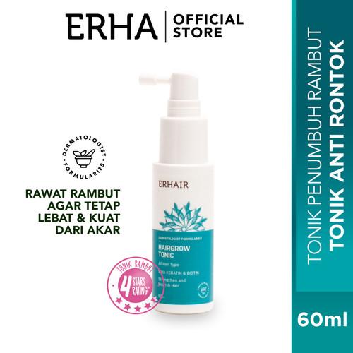 Foto Produk erhair Hair Loss Tonic 60ml - Tonic Rambut Rontok dari Erha Official Store