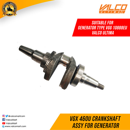 Foto Produk Sparepart Valco Ultima VGG 10888EU Crankshaft Assy For Generator dari Valco