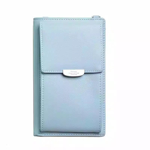 Foto Produk Tas Selempang wanita poket Dompet Hp LCY - Biru Muda dari nazzstore92