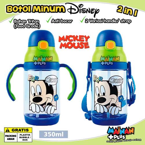 Foto Produk BOTOL MINUM ANAK DISNEY MICKEY CARS POOH TRITAN FOOD GRADE BPA FREE - Mickey dari MainanPlus