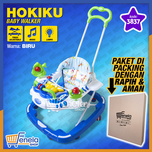 Foto Produk Baby Walker Hokiku 3837 - Biru dari Fenela shop