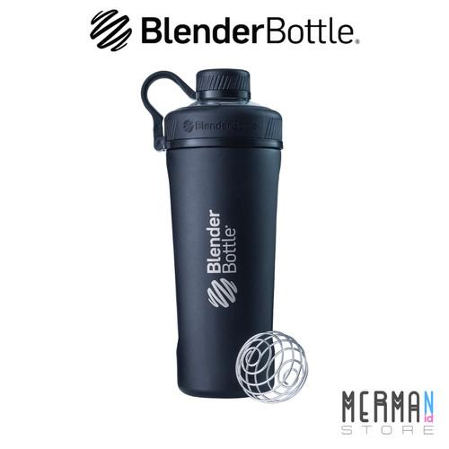 Foto Produk Blender Bottle Radian™ Insulated SS - Protein Shaker BlenderBottle - Hitam dari MermaidStore
