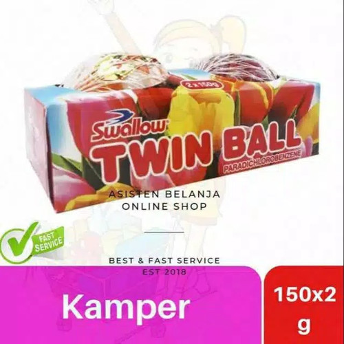 Foto Produk Kamper Swallow twin ball 2x120gr dari Reneo Reneo