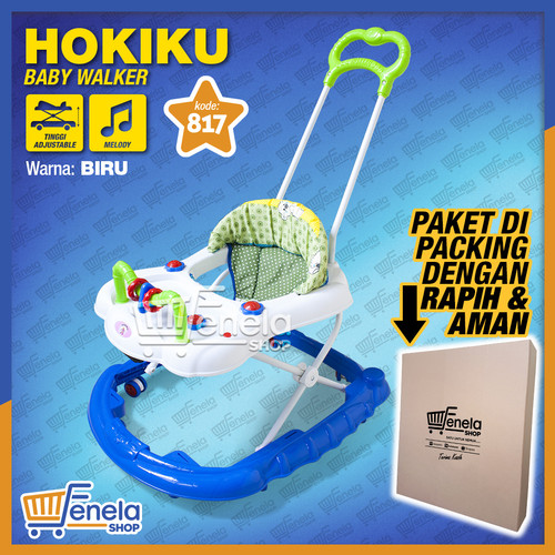 Foto Produk Baby Walker Hokiku 817 - Biru dari Fenela shop