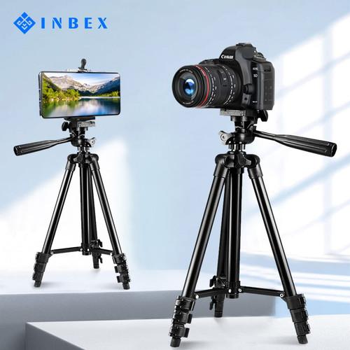 Foto Produk INBEX Tripod VLOG Holder U Professional Stand for Camera hp - 3120 tripod dari INBEX Official Store