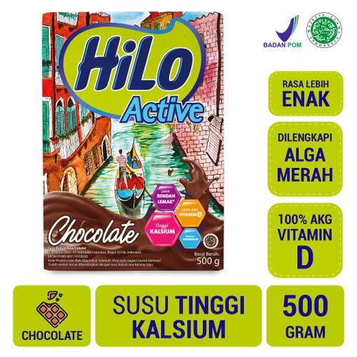 Foto Produk HiLo Active Chocolate 500gr - Susu Tinggi Kalsium dari NutriMart