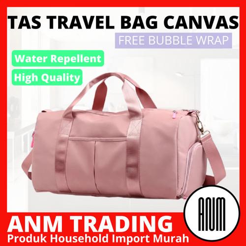 Foto Produk Tas Travel / GYM / Sport Bag Wanita Unisex - Pink - Merah Muda dari ANM TRADING