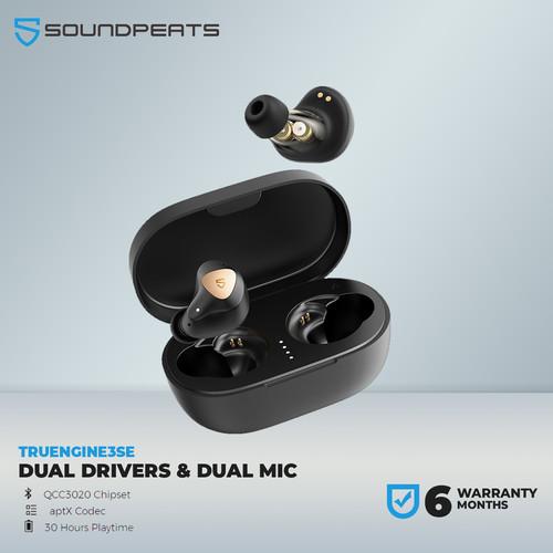 Foto Produk SoundPEATS Trueengine 3SE TWS Headset Bluetooth aptX True Engine dari SOUNDPEATS OFFICIAL