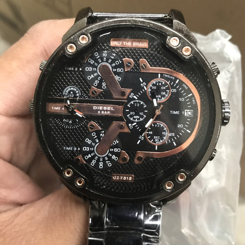 Foto Produk Superpromoo!!! jam tangan bisnis pria - Hitam dari Bakti makmur jaya