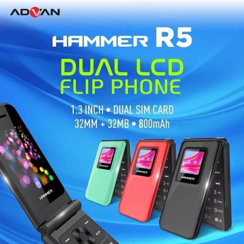 Foto Produk ADVAN R5 FLIP FEATURE PHONE GARANSI RESMI ADVAN INDONESIA TERMURAH - Hijau dari Hapemall.id