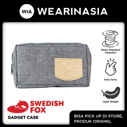 Foto Produk Original Swedish Fox Pouch Travel Gadget Case dari Wearinasia Official