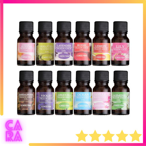 Foto Produk Essential Oil Aroma Terapi Aromatherapy Diffuser Humidifier 10ml TSLM1 dari CARA Store