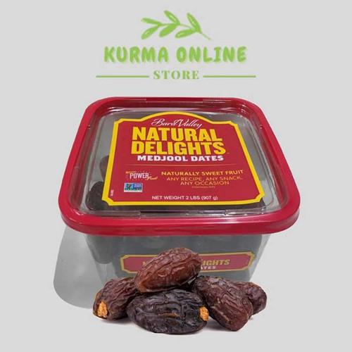 Foto Produk kurma medjol natural delight 907 gr dari kurmaonlinestore
