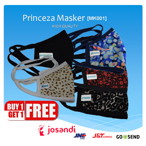 Foto Produk Masker Kain Katun High Quality Princeza MK001 Face Mask Cotton Cantik dari josandi